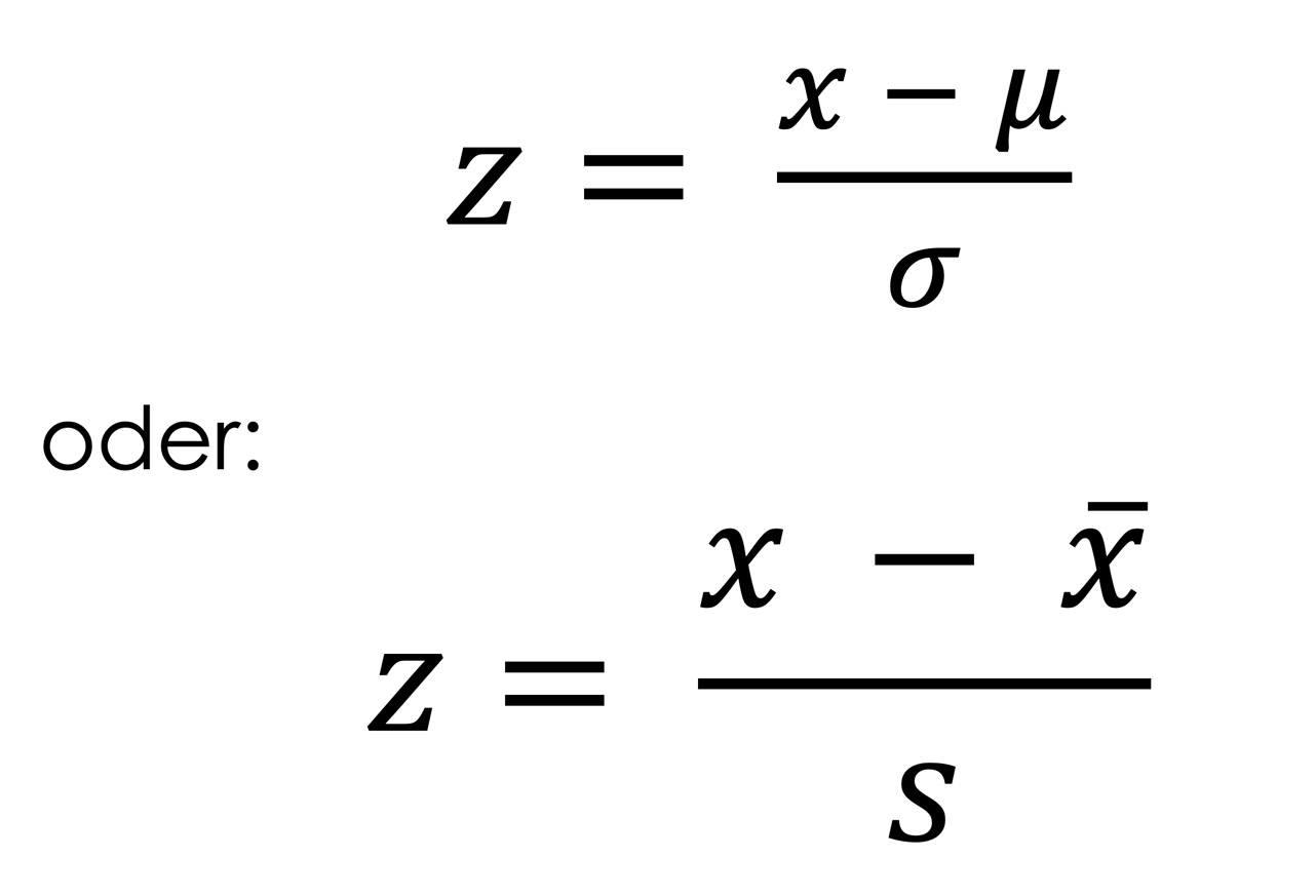 formel-standardisierung