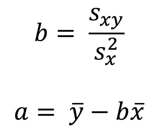 formeln-regressionskoeffizienten